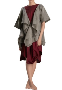 grey-handloom-draped-jacket