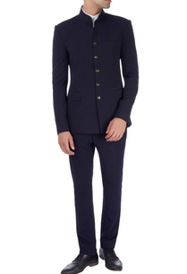 navy-blue-bandhgala