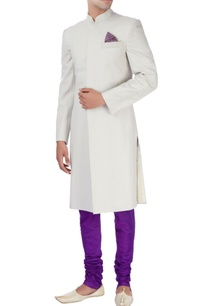 beige-purple-sherwani-set