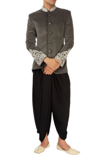 black-dhoti-pants