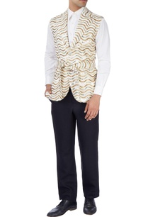 white-gold-disco-jacket-with-white-shirt