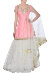pink-sharara-lehenga-set