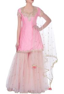 light-pink-kurta-with-sharara-pants