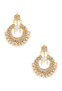 gold-plated-earrings-with-white-studs