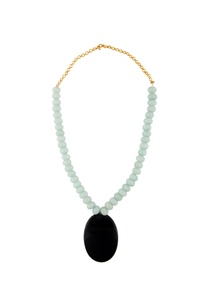 mint-green-black-statement-necklace