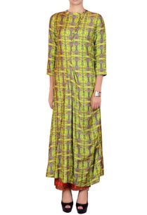 lime-green-orange-salwar-suit