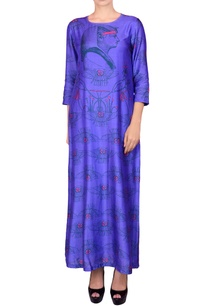 purple-maxi-dress-in-egyptian-print