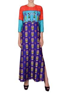 purple-maxi-dress-in-egyptian-print