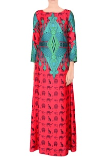 red-printed-maxi-dress