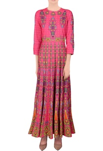 blush-pink-printed-kalidar-kurta