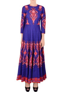 blue-printed-kalidar-kurta