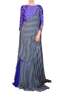 royal-blue-maxi-dress-with-drape