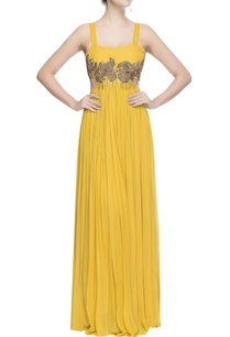 yellow-gown-with-metal-embroidery