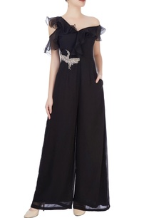black-one-shoulder-jumpsuit-with-applique
