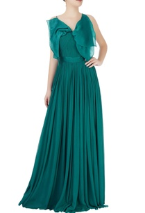 teal-blue-gown-with-bow