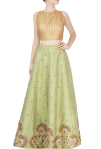 pista-green-skirt-with-zardozi-embroidery