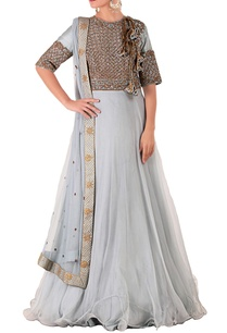 light-blue-brown-embroidered-anarkali