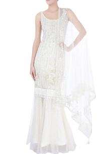white-sequin-embellished-lehenga-set