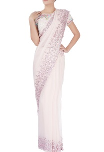 blush-pink-sequin-embellished-sari