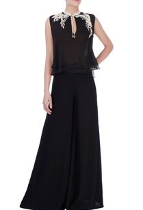 black-flared-style-trousers