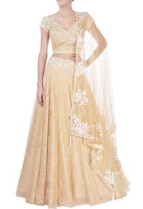 beige-sequin-embellished-lehenga
