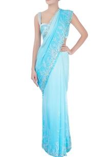 blue-sequin-embellished-sari