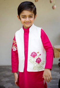 pink-kurta-with-churidar-jacket