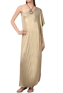 gold-one-shoulder-maxi-dress