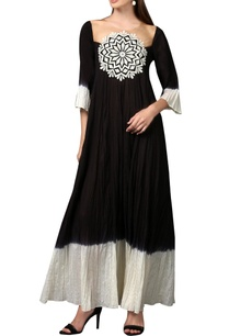 black-white-chakra-maxi-dress