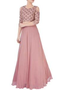 dusky-pink-embroidered-lehenga-set-teamed-with-a-matching-blouse
