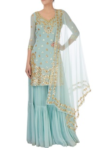 ice-blue-embellishment-sharara-set
