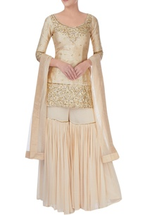 off-white-embellished-sharara-set