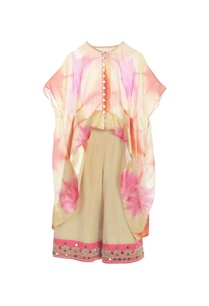 multi-colored-asymmetric-kurta-beige-pants
