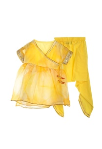 yellow-kurta-with-dhoti-pants