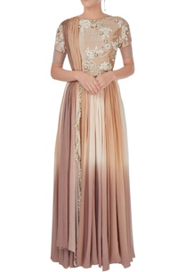 beige-brown-shaded-anarkali-gown