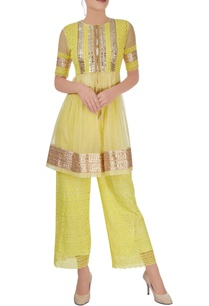 lemon-yellow-kurta-with-pants