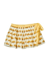 offwhite-pleated-skirt-with-taxi-print