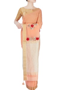 peach-ivory-sari-with-embroidery