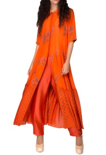 orange-printed-kurta