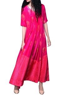 rani-pink-printed-dress