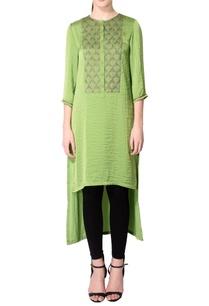 chartreuse-green-embellished-kurta
