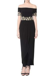 black-sequin-embroidered-kurta-set