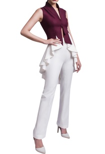 wine-white-jacket-trousers