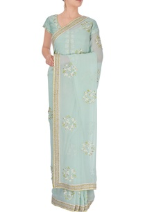 sky-blue-embroidered-sari-with-blouse