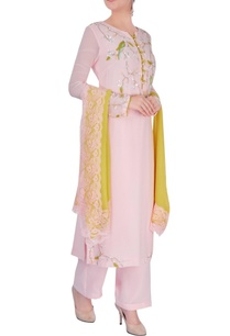 pastel-pink-embroidered-kurta-set