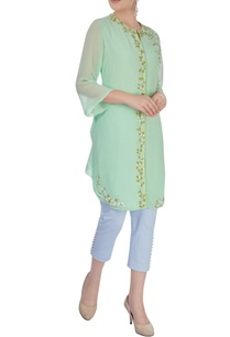 sea-green-embroidered-kurta