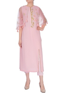 pastel-pink-embroidered-poncho