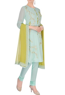 sea-green-embroidered-kurta-set