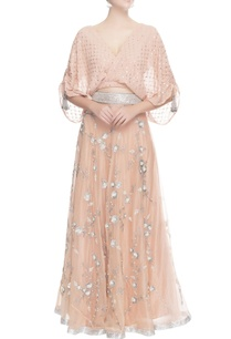 peach-sequin-embroidered-lehenga