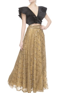 gold-sequin-embroidered-lehenga
